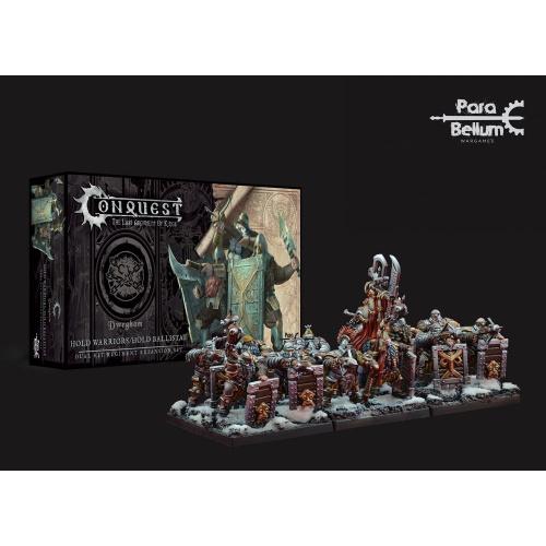 Conquest: Miniaturen 12er-Pack Dweghom: Hold Warriors -...