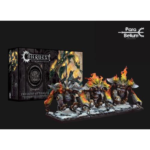 Conquest: Miniaturen 3er-Pack Dweghom: Inferno Automata
