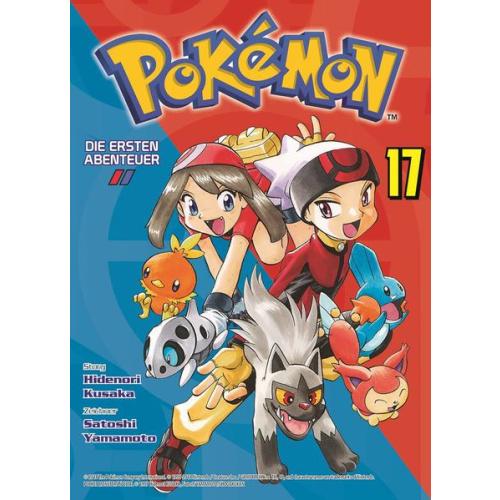 Pokémon - Die ersten Abenteuer - Bd. 17: Rubin und...