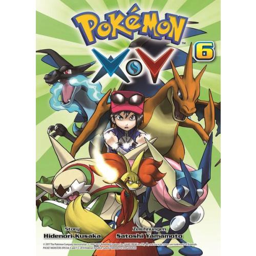 Pokémon X und Y - Bd. 6