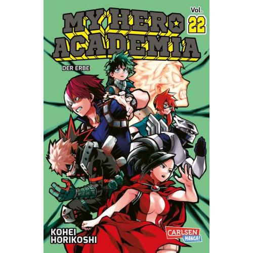 My Hero Academia 22