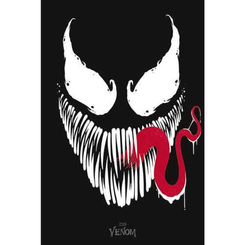 Fach 24 Marvel Comics Poster Venom