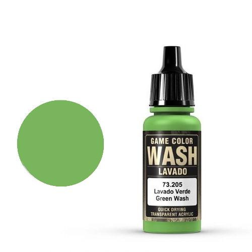 Game Wash Green Shade, 17ml