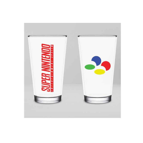 NNTENDO - Super Nes Glass 450 ml