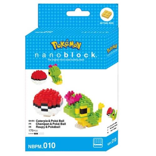 Pokemon Raupi // Mini series NANOBLOCK