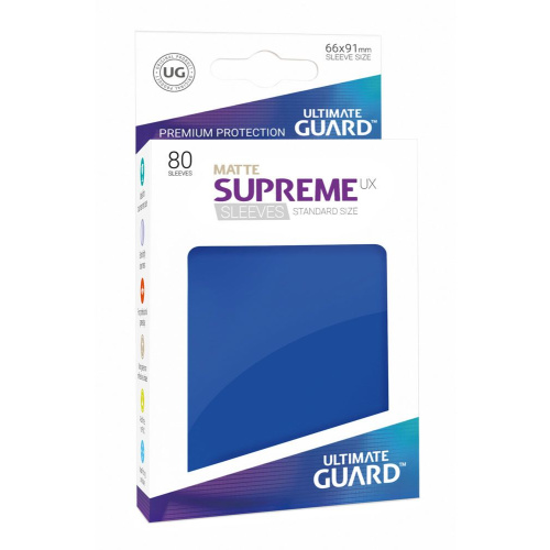 UG Supreme UX Sleeves Standardgröße Matt Blau...