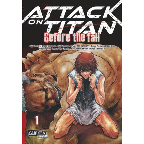 Attack on Titan - Before the Fall 1