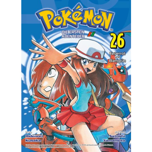 Pokémon - Die ersten Abenteuer - Bd. 26: Feuerrot...