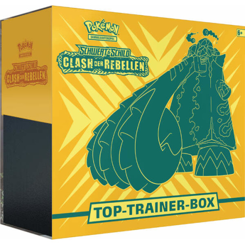 Clash der Rebellen Top Trainer Box - Pokémon Clash der...