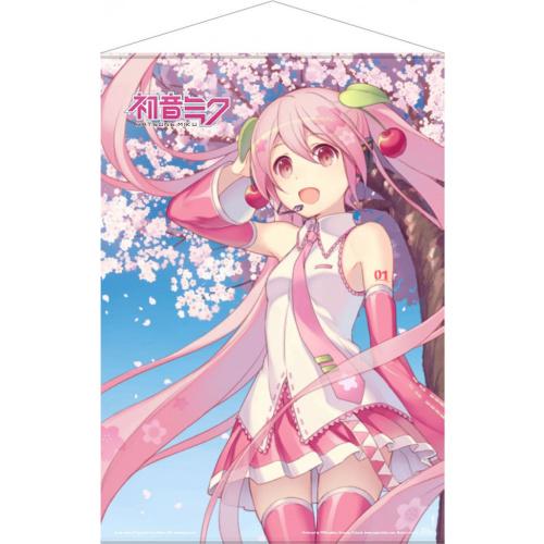 Hatsune Miku Wallscroll - Cherry Blossom