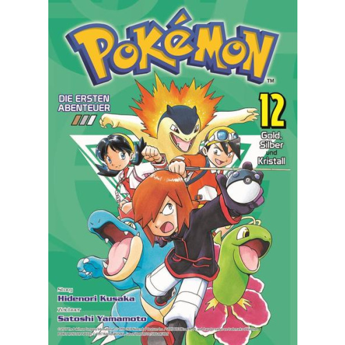 Pokémon - Die ersten Abenteuer - Bd. 12: Gold,...