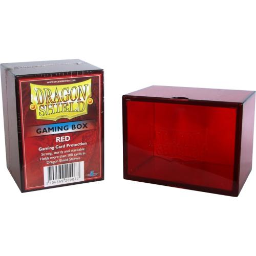 Dragon Shield Strong Box 100+ Karten RED