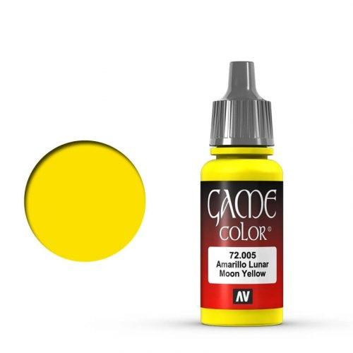 Game Color Bald Moon Yellow