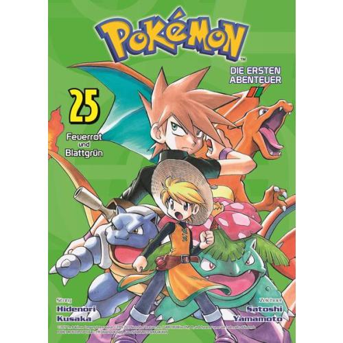 Pokémon - Die ersten Abenteuer - Bd. 25: Feuerrot...