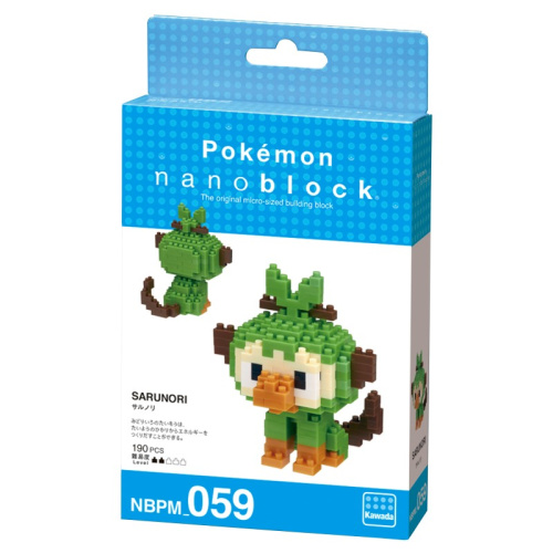 Pokemon Chimpep // Mini series NANOBLOCK