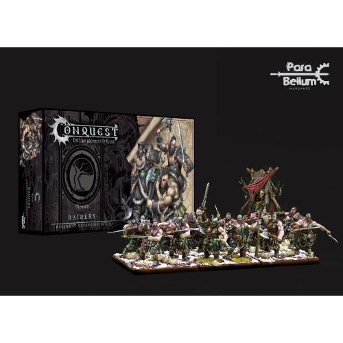 Conquest: Miniaturen 12er-Pack Nords: Raiders