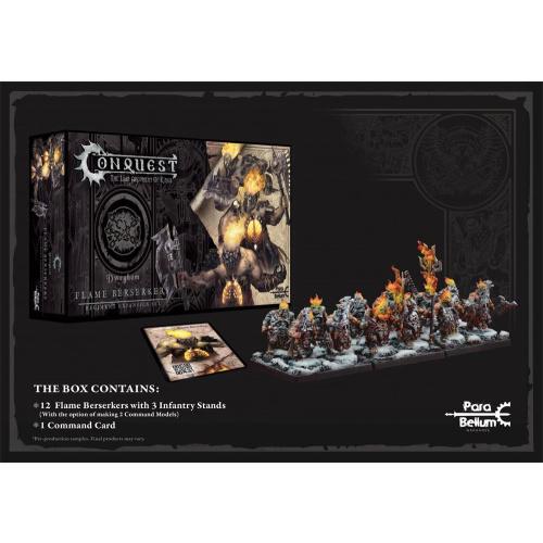 Conquest: Miniaturen 12er-Pack Dweghom: Flame Berserkers
