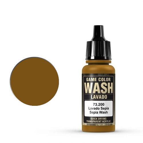 Game Wash Sepia Shade, 17ml