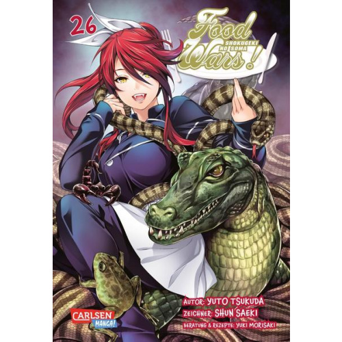 Food Wars - Shokugeki No Soma 26