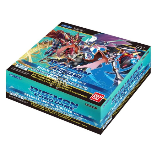 Digimon - Release Special Booster 1.5 DISPLAY