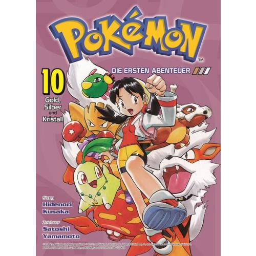 Pokémon - Die ersten Abenteuer - Bd. 10: Gold,...