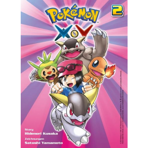 Pokémon X und Y - Bd. 2