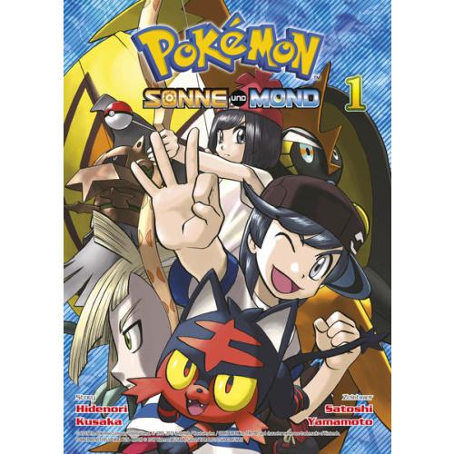 Pokémon - Sonne und Mond - Bd. 1
