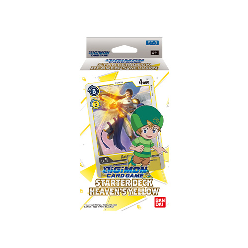 Digimon Card Game - Starter Deck Heavens Yellow ST-3