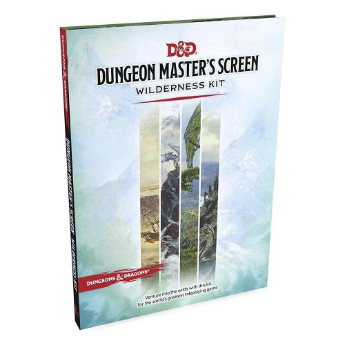D&D Dungeon Masters Screen Wilderness Kit