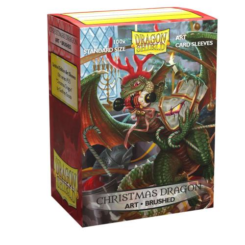 Dragonshield - Christmas Dragon 2020 - Brushed Sleeves