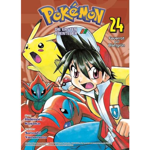 Pokémon - Die ersten Abenteuer - Bd. 24: Feuerrot...