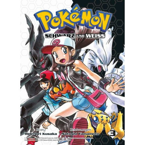 Pokémon Schwarz und Weiss - Bd. 3