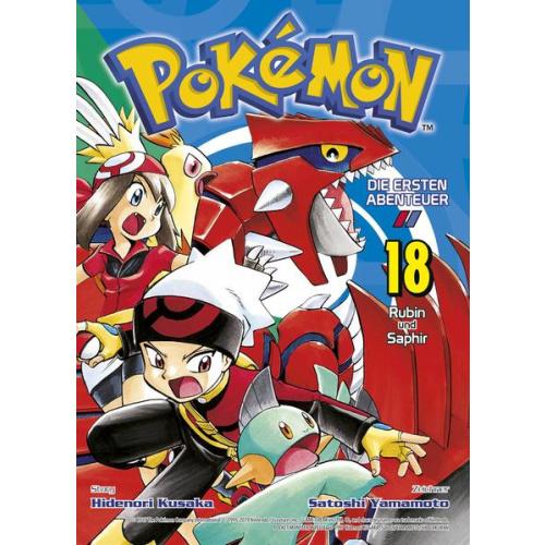 Pokémon - Die ersten Abenteuer - Bd. 18: Rubin und...