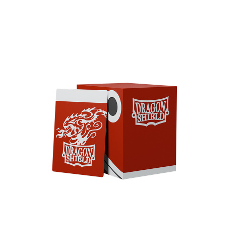 Dragon Shield - Double Shell Red/Black