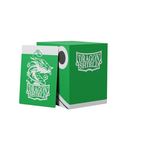Dragon Shield - Double Shell Green/Black