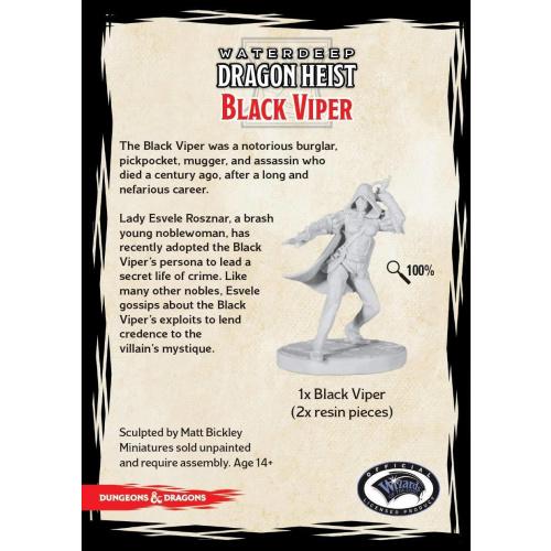 D&D Collector Series Black Viper