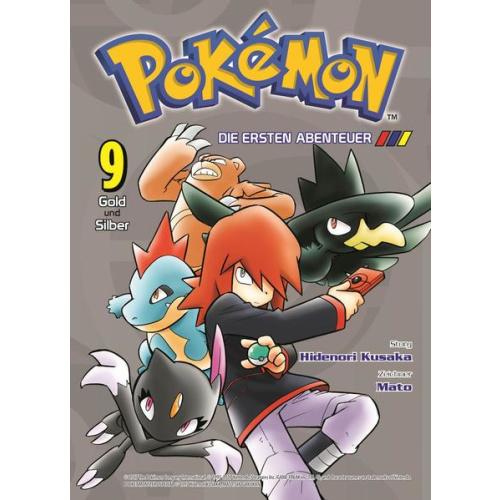 Pokémon - Die ersten Abenteuer - Bd. 9: Gold und...