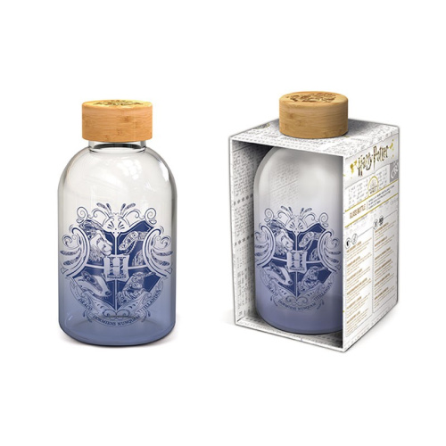 Harry Potter - Hogwarts 620 ml Glasflasche