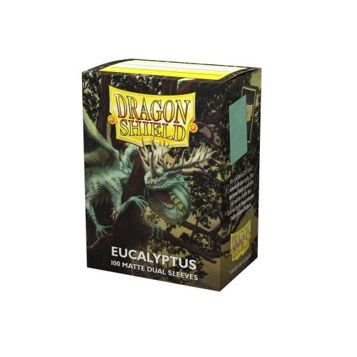 Dragon Shield Dual Matte Sleeves - Eucalyptus Lehel 100...