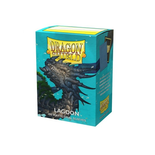 Dragon Shield Dual Matte Sleeves - Lagoon Saras 100...