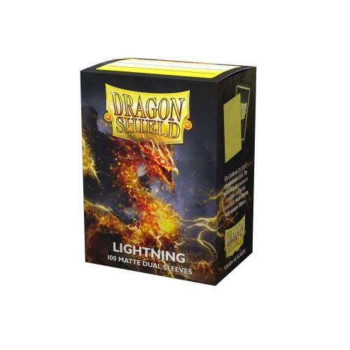 Dragon Shield Dual Matte Sleeves - Lightning Ailia 100...