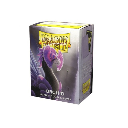 Dragon Shield Dual Matte Sleeves - Orchid Emme 100...