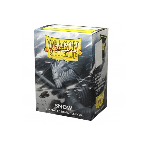 Dragon Shield Dual Matte Sleeves - Snow Nirin 100...