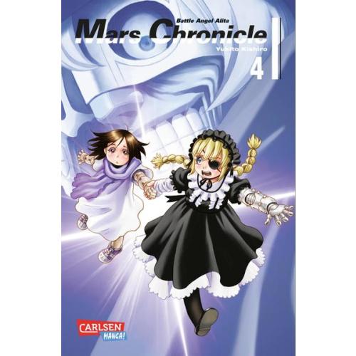 Battle Angel Alita - Mars Chronicle 4