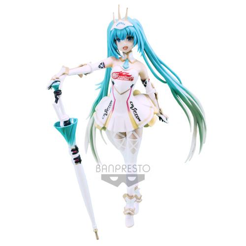 Hatsune Miku: Racing Miku 2015 Figur 19 cm