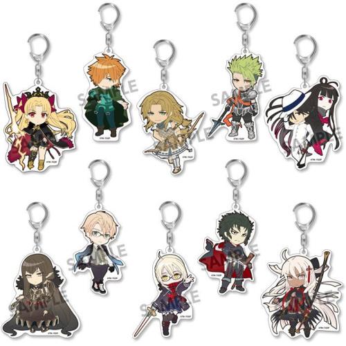 Fate/Grand Order Pikuriru! Schlüsselanhänger 8...