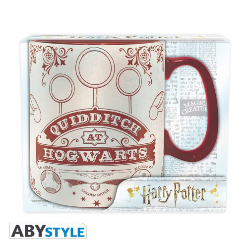 Harry Potter Quidditch Tasse 460 ml