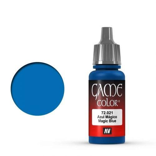 Game Color Magic Blue
