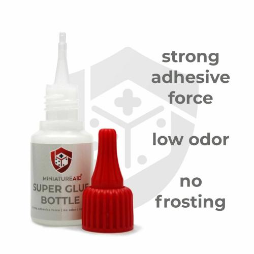 Miniature Aid Super Glue Bottle 20g