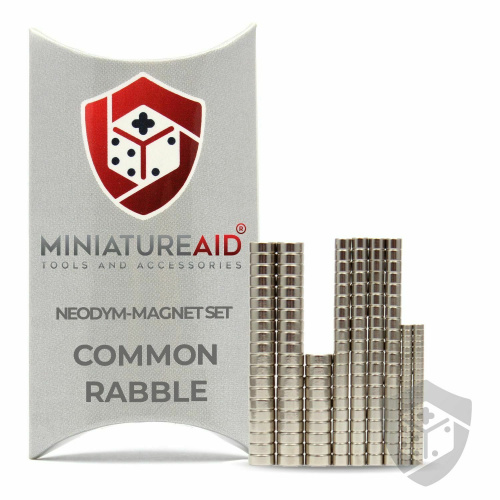 Miniature Aid Common Rabble Neodym-Magnet-Set